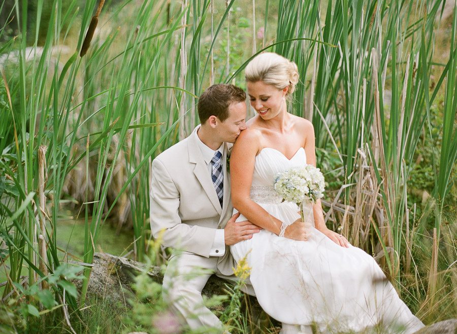 Outdoor Photography Wedding: Priest Lake Waterfront Summer Wedding