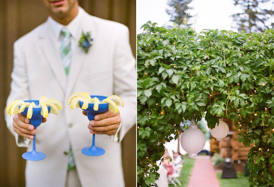 Priest Lake Waterfront Summer Wedding