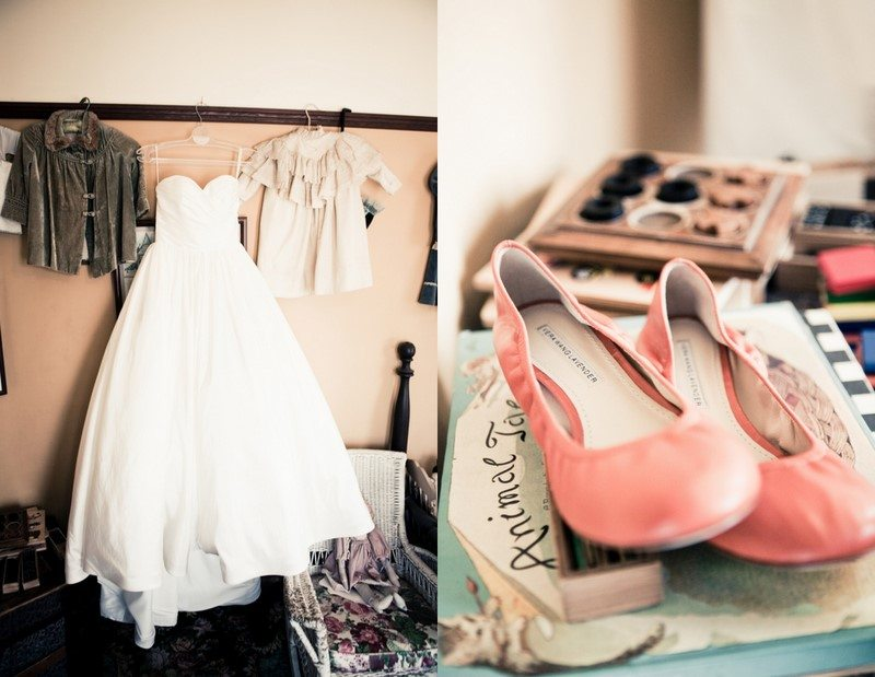 Pink Wedding Dress Shoes : A pretty country wedding the sweetest occasion