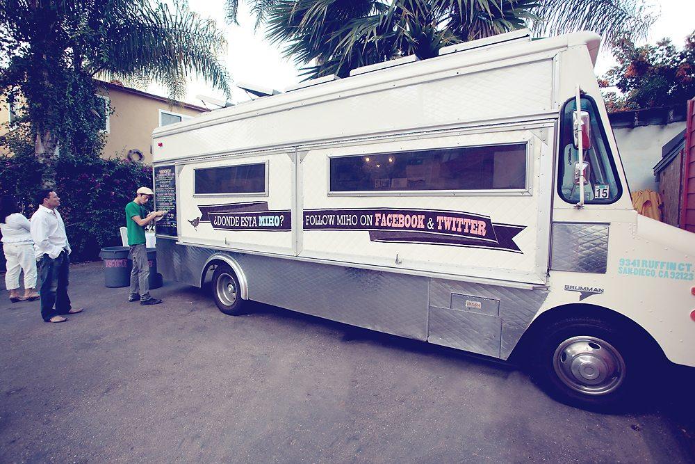 Miho Food Truck Wedding