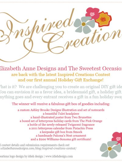 Announcing Inspired Creations Holiday Gift Exchange! thumbnail