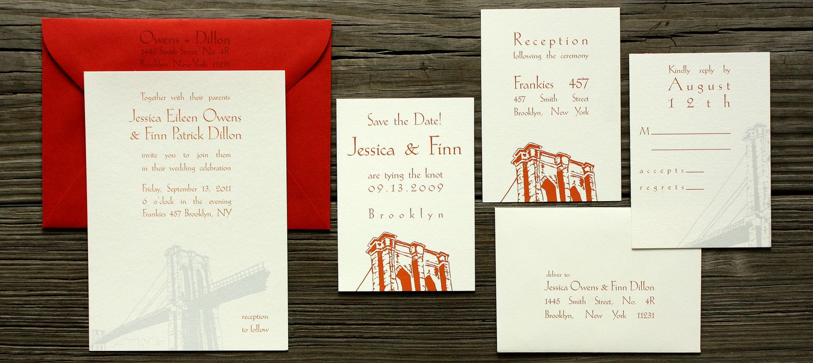 brooklyn wedding invitations | Wedding