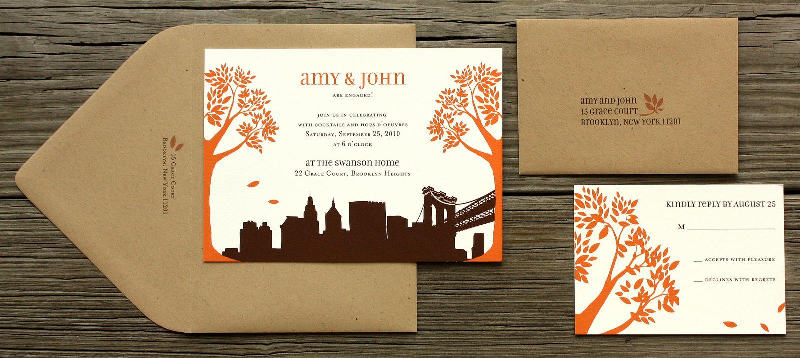 wedding invitations new york city - broprahshow, Wedding invitations