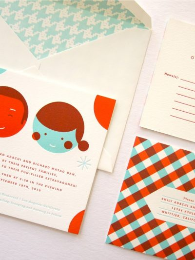 Custom Wedding Invitations from Erin Jang thumbnail