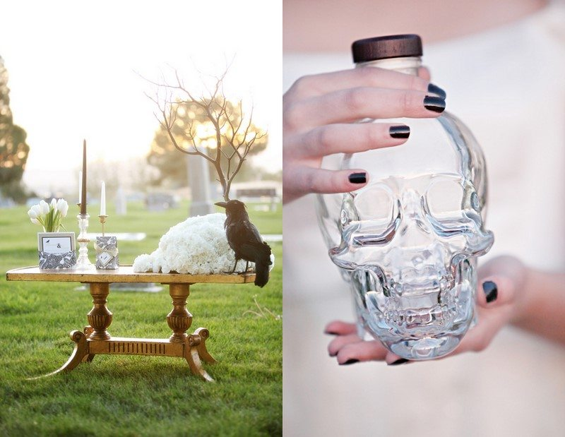 Gothic Halloween Wedding Ideas The Sweetest Occasion
