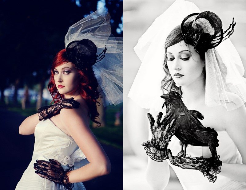 Gothic Halloween Wedding Ideas - The Sweetest Occasion