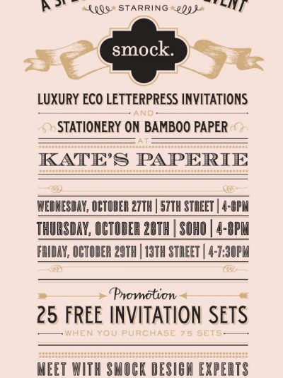 Smock at Kate's Paperie – Three Days Only! thumbnail