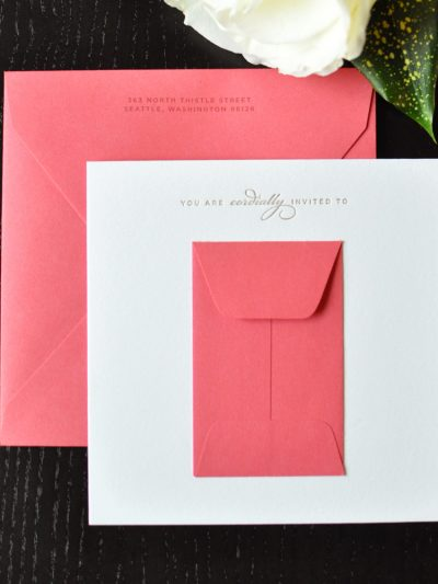 Pretty Pink Bridal Shower Invitations thumbnail