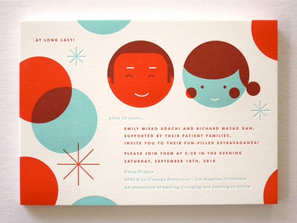Custom Wedding Invitations from Erin Jang - The Sweetest Occasion