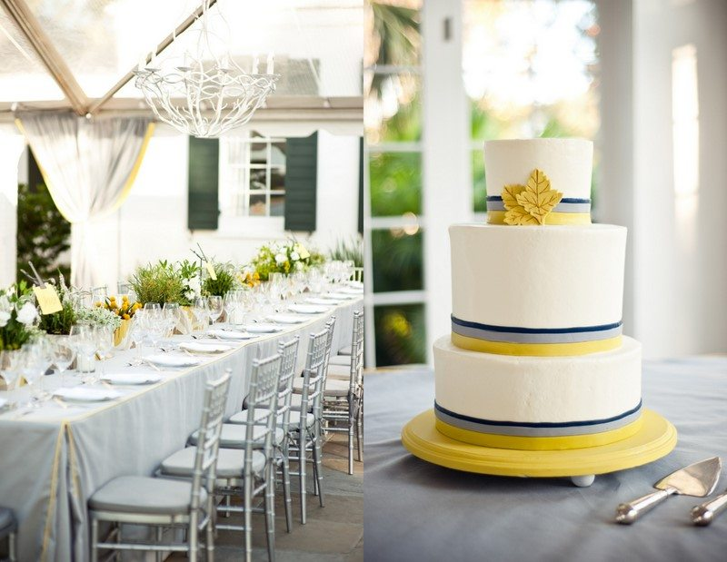 Silver Yellow Wedding