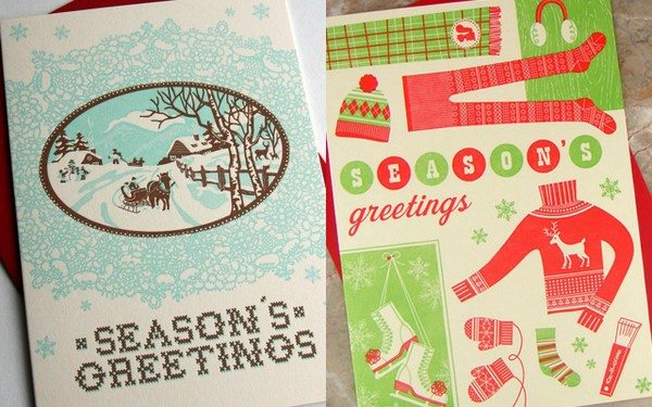 Stationery lines have put out the coolest cards this year so ill likely be sharing more favorites than in years past to which i say happy holidays
