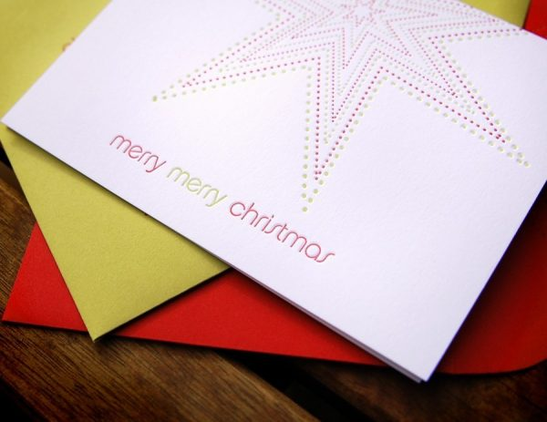 merry-christmas-star-letterpress-cards