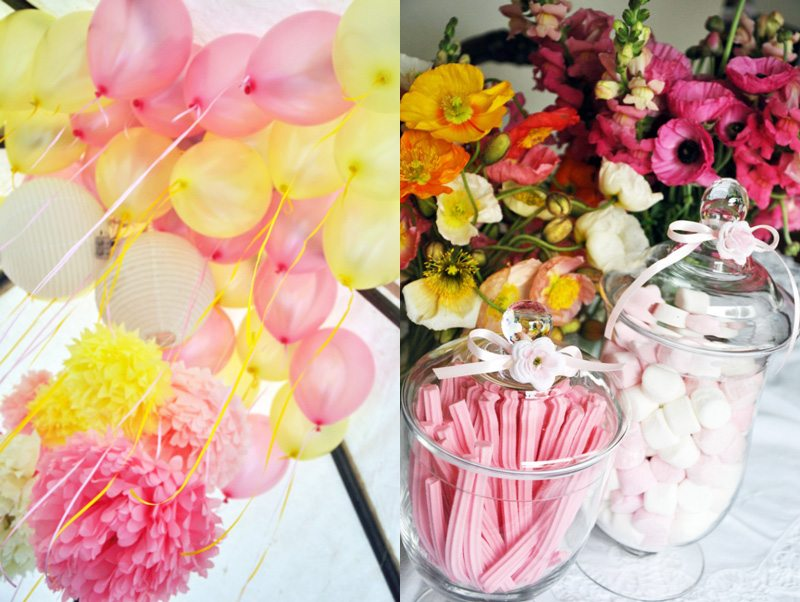 Avas Pretty Pink + Yellow Birthday Party  The Sweetest  ~ 214418_Birthday Party Ideas Yellow