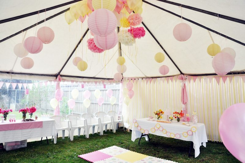 Avas Pretty Pink + Yellow Birthday Party - The Sweetest Occasion ...