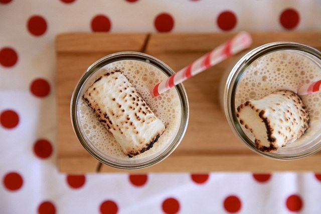 Toasted Marshmallow Milkshakes - The Sweetest Occasion — The ...
