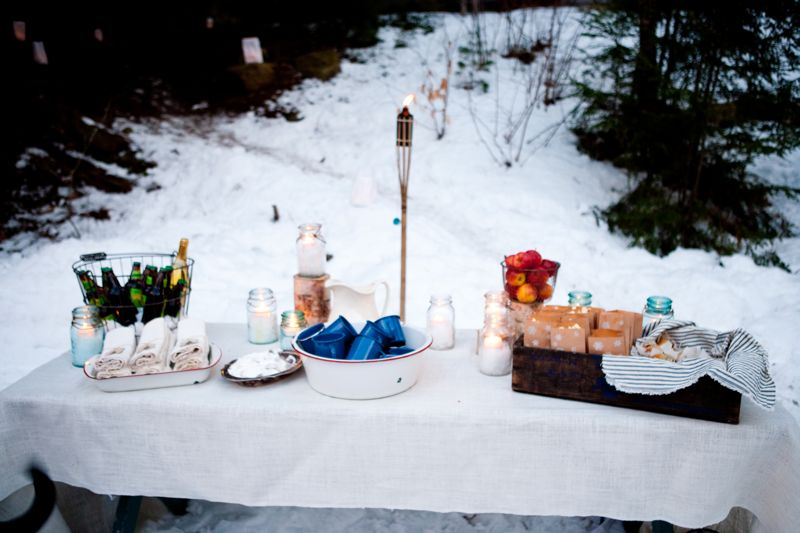 Winter Backyard Ideas : Winter Ice Skating Party  The Sweetest Occasion ? The Sweetest