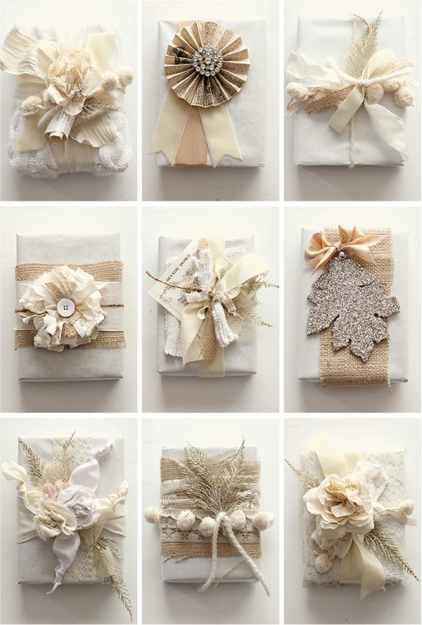 Wedding Gift Diy Ideas Suggestions : Prettiness: Gift Wrapping Ideas - Janette Lane