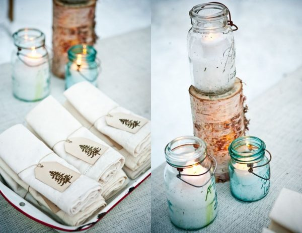 mason-jar-candles-christmas-napkins