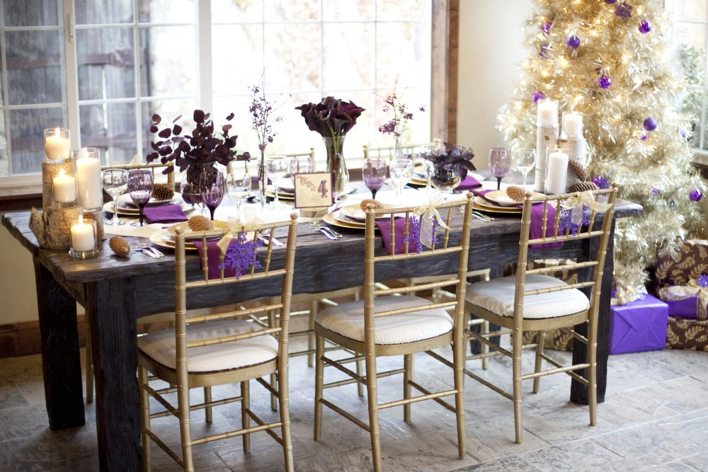 Gold purple wedding colors the sweetest occasion gold purple wedding colors junglespirit Image collections