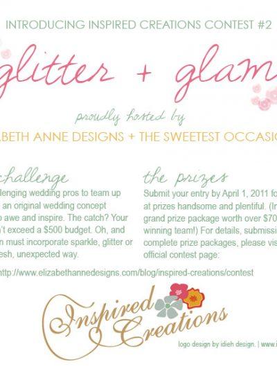 Inspired Creations Contest #2: Glitter and Glam thumbnail