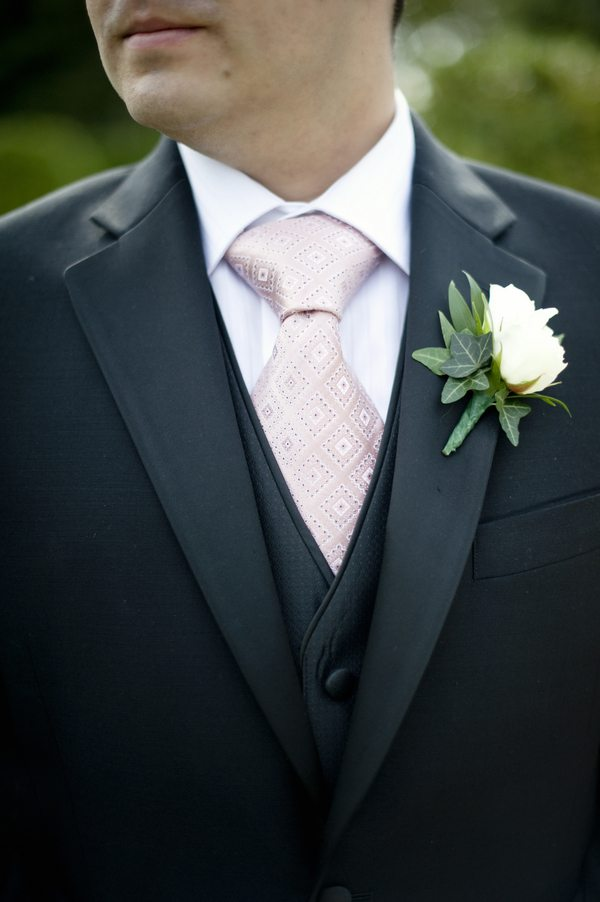 white-rose-boutonniere - The Sweetest Occasion — The Sweetest ...
