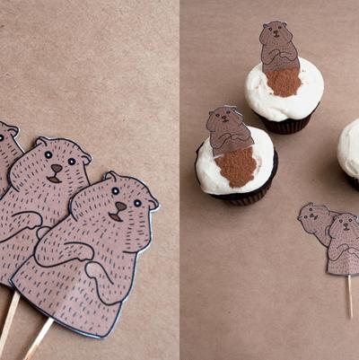 Groundhog Day Cupcakes thumbnail