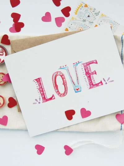 Handpainted Valentines thumbnail