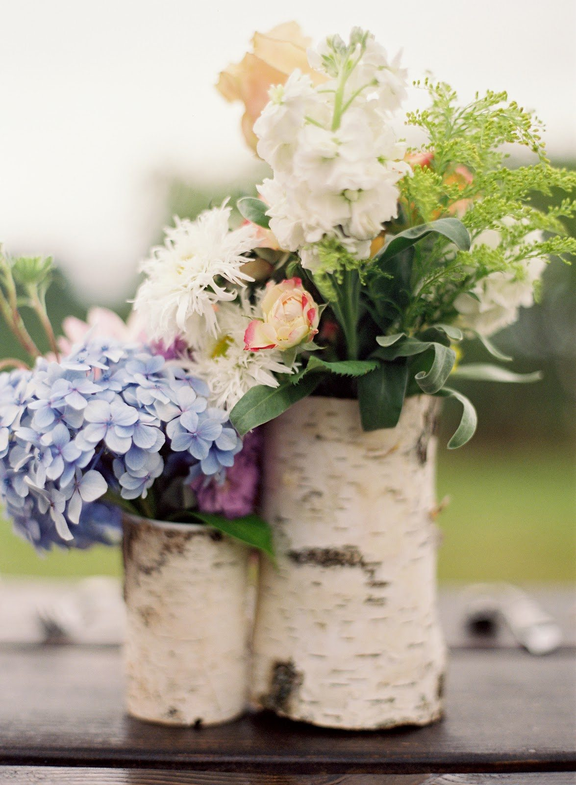 A rustic pretty winery wedding the sweetest occasion Simple flower decoration ideas