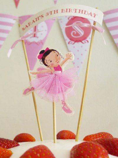 Pink Ballerina Birthday Party thumbnail
