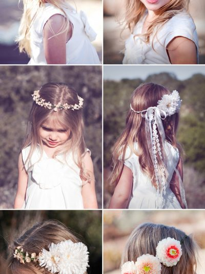 Pretty Flower Girl Accessories thumbnail