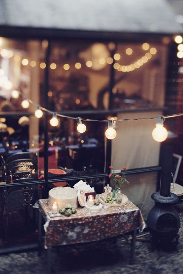 A Pretty Outdoor Fete The Sweetest Occasion The