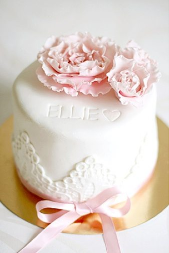 pink-birthday-cake-flowers - The Sweetest Occasion — The Sweetest ...
