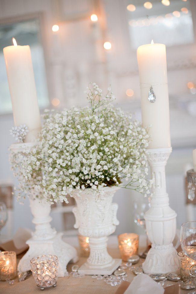 Babys breath centerpieces the sweetest occasion the sweetest