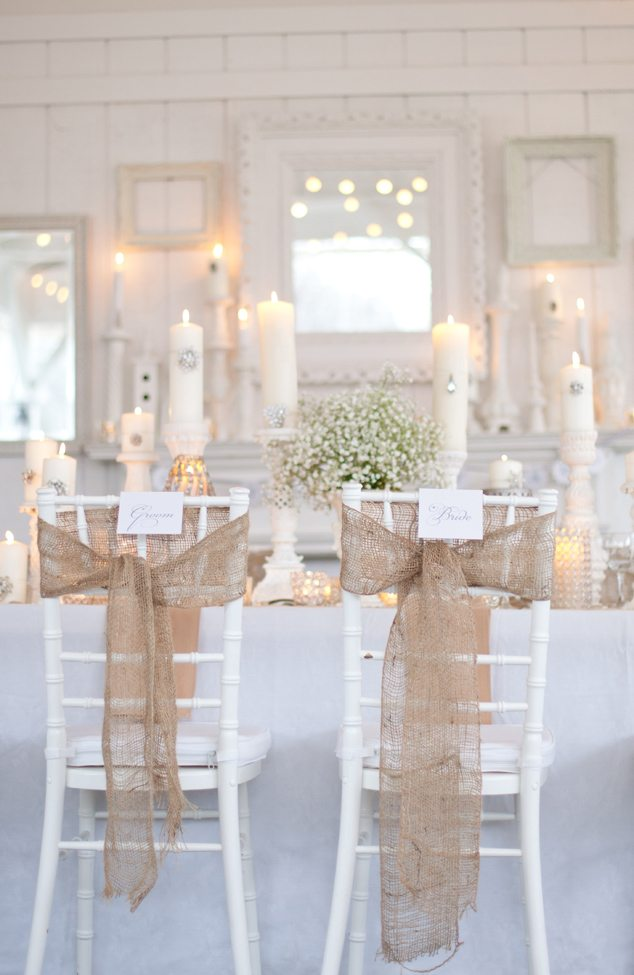 Burlap bling wedding inspiration the sweetest occasion for Decor inspiration
