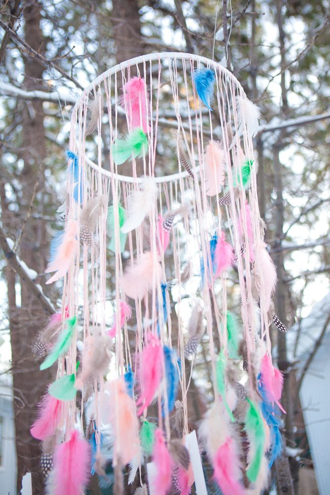 Feather Chandelier 1 The Sweetest Occasion The