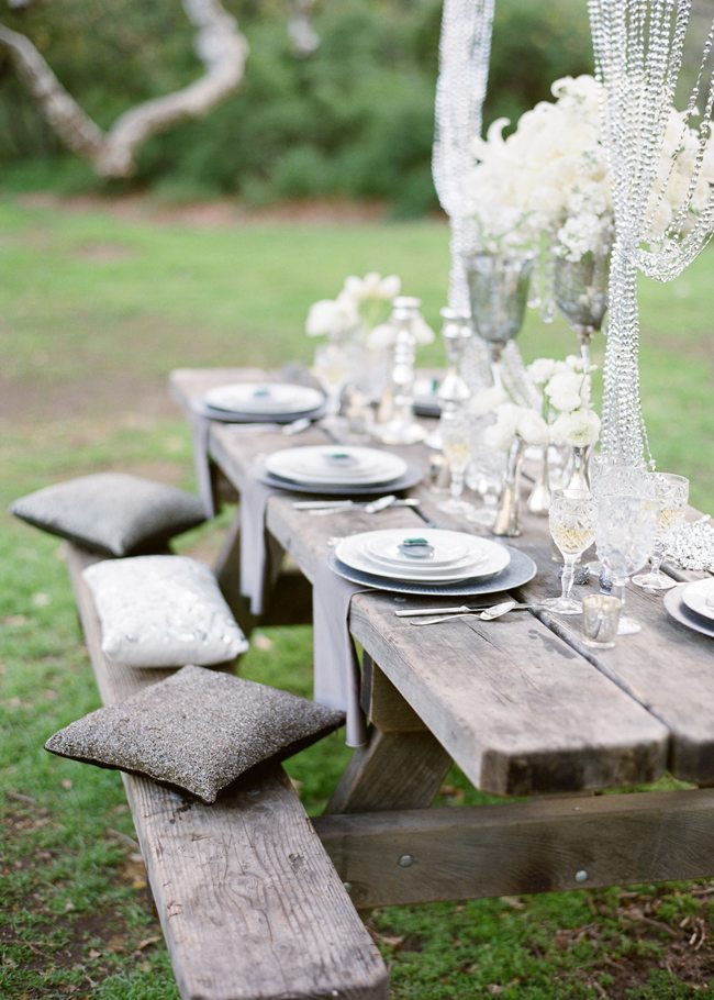 Glamorous Wedding Style Under The Trees The Sweetest Occasion