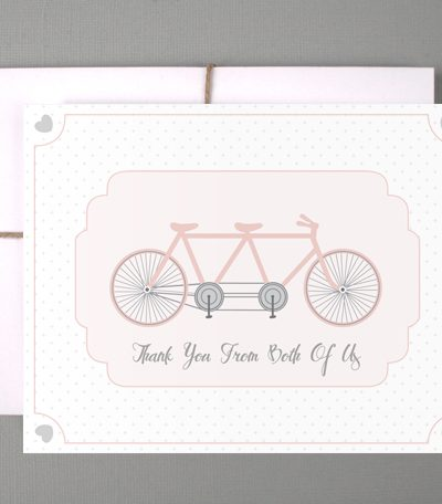 Pretty Printables: Cute Bicycle Thank You Cards thumbnail