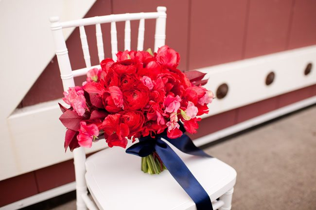 Red Navy Copper Americana The Sweetest Occasion