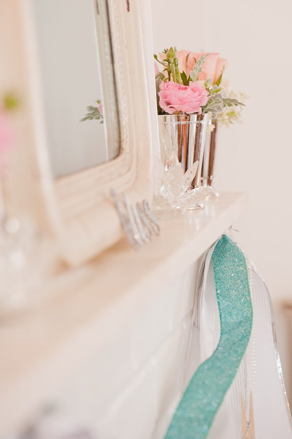 Pink White Shabby Chic Wedding Style The Sweetest Occasion pink and teal