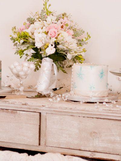 Pink + White Shabby Chic Wedding Style thumbnail