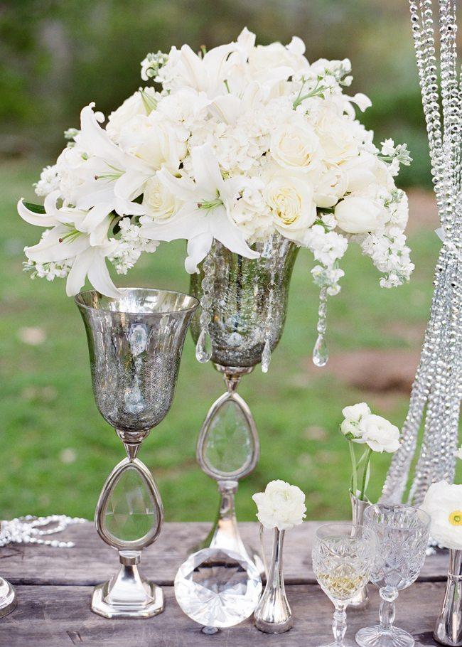 Glamorous wedding style under the trees sweetest