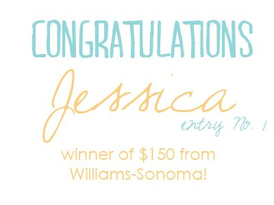Sponsored Giveaway: $150 Williams Sonoma Gift Card! thumbnail