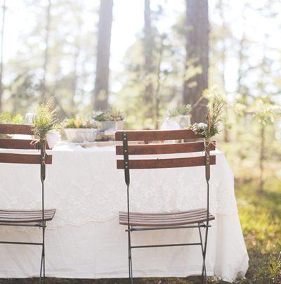 Pretty Woodland Wedding Inspiration thumbnail