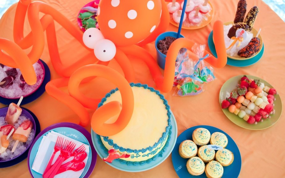Welcome summer with a water party the sweetest occasion for Pool and food
