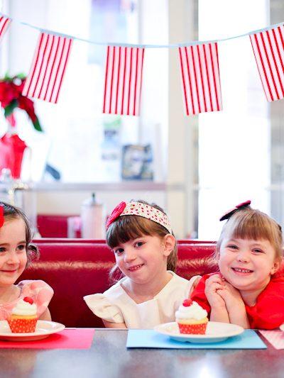 Retro Cherry Birthday Party Inspiration thumbnail