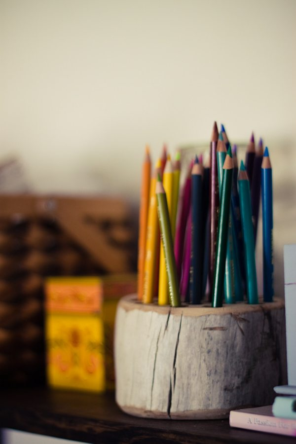 DIY Pencil Holder - The Sweetest Occasion