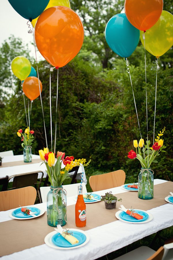 Decorating With Fiestaware Baby Celebration For Kristin Tommy The Sweetest Occasion The