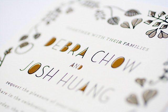 quirky custom illustrated wedding invitations  the sweetest, Wedding invitations
