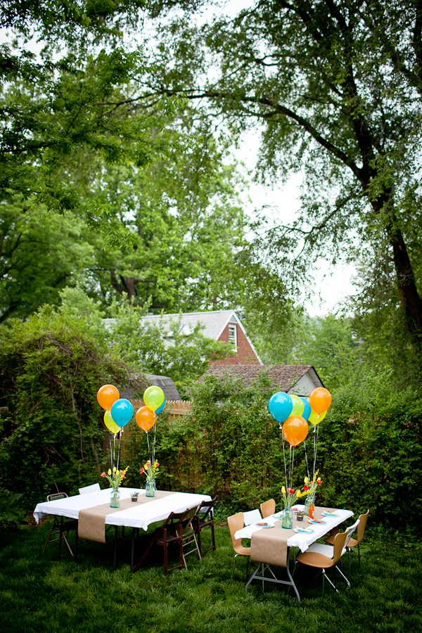 Outdoor baby shower decorations best baby decoration for Backyard baby shower decoration