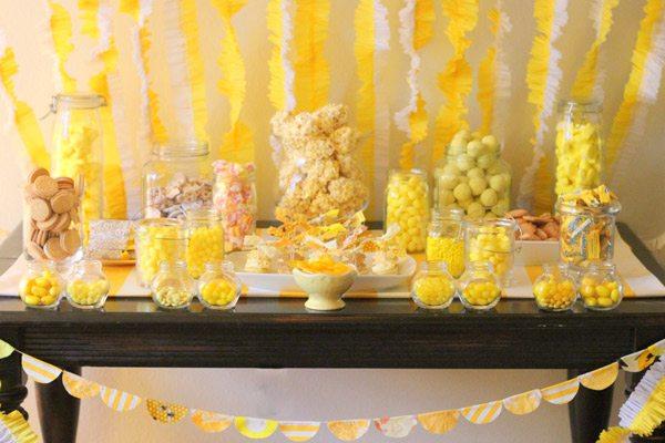 HowToCookThat  Cakes, Dessert & Chocolate  DIY Dessert  ~ 214418_Birthday Party Ideas Yellow